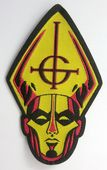 Ghost - 'Papa' Shaped Woven Patch